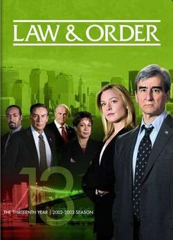 Law and Order S13 (DVD)