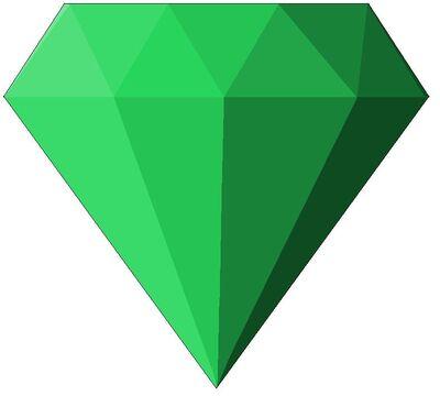 Chaos emerald green by flamethewolf1600-d67prcs