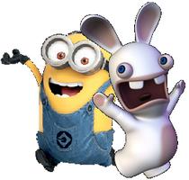 Rabbid and Minion