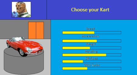 Choose your Kart (Dudley)