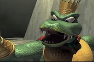The Final Boss from in Zyu2; King K. Rool