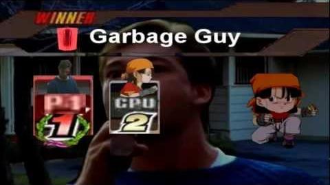 Super Smash Bros Lawl Ultimate - Garbage Guy