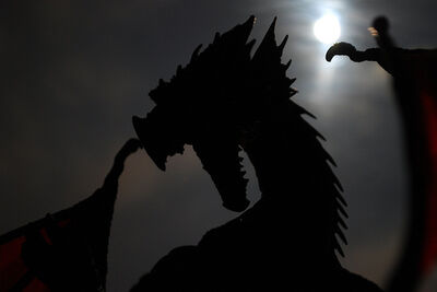 Dragon y Luna