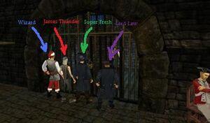 Law, Wizard, James, Fresh & Maxamillion