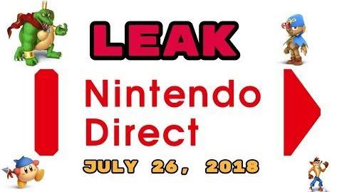 Video - LEAKED Nintendo Direct July 27, 2018! HUGE Smash Ultimate