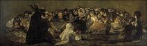 Francisco de Goya y Lucientes - Witches' Sabbath (The Great He-Goat)