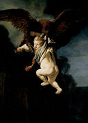 250px-Rembrandt - The Abduction of Ganymede - Google Art Project
