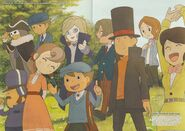 Layton Commemorative Illustation