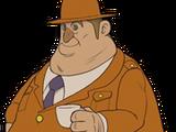 Polizeipräsident Levin Jakes