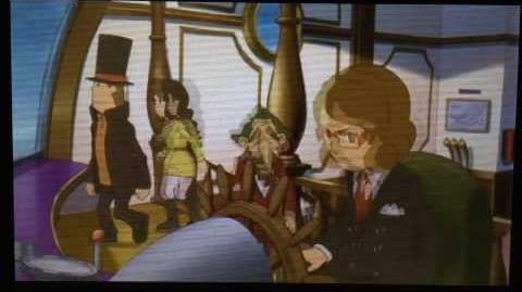 Professor Layton and the Azran Legacy Cutscene 5 (US Version)