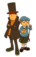 Layton3 Artwork Layton Luke