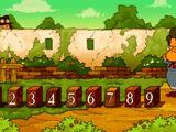 Nine Red Bricks