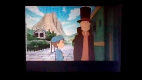 Professor Layton and Pandora's Box the Diabolical Box - Cutscene 8 (UK Version)