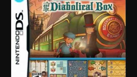 27 - The Dark Forest (HQ) Professor Layton and the Diabolical Box Soundtrack