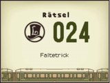 Faltetrick