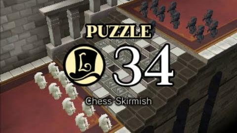 Puzzle Solution Puzzle 34 - Chess Skirmish (Professor Layton vs Phoenix Wright Ace Attorney)