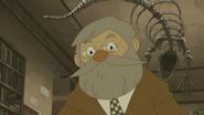 Dr. Schrader mit Brille
