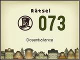Dosenbalance