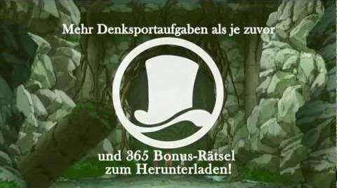 Professor Layton und die Maske der Wunder Trailer german deutsch
