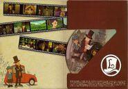 Layton Series Soundtrack Premium CD Cover Inside