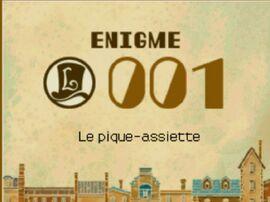 Énigme 001 DP - Titre