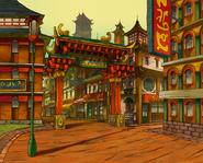 Chinatown-Platz