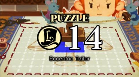 Puzzle Solution Puzzle 14 - Eccentric Tailor (Professor Layton vs Phoenix Wright Ace Attorney)