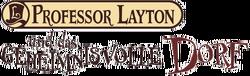 Professor Layton und das geheimnisvolle Dorf Logo