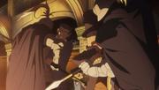 Phoenix und Layton gegen Ritter
