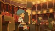 Sitting in the Theatre