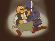 Gilbert liegt im Sterben