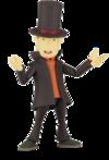 Professor Layton Revoltech Figur