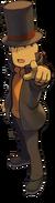 PLvsPW Layton Character Art 2