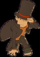 Layton1 EXHD Character Art