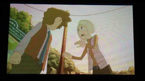 Professor Layton and the Miracle Mask Cutscene 26 (US Version)