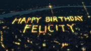 Happy Birthday Felicity