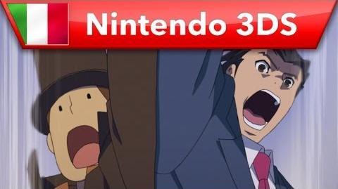 Il professor Layton vs Phoenix Wright Ace Attorney trailer di lancio (Nintendo 3DS)
