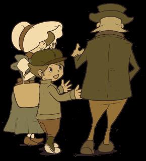 Clives Eltern