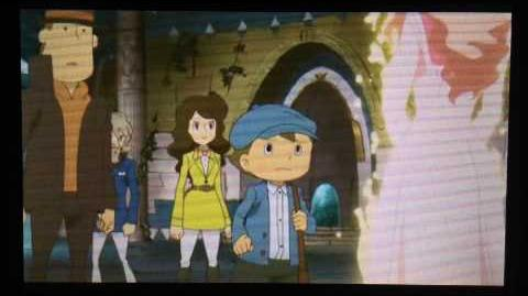 Professor Layton and the Azran Legacy ENTIRE Ending (US Version)