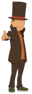 LMDA Layton Character Artwork 1
