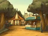 Altes Zirkuszelt