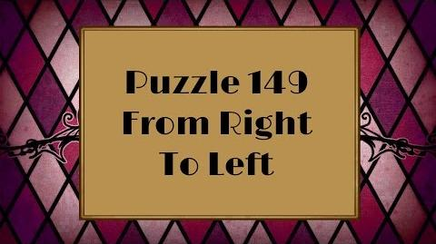 Professor Layton and the Miracle Mask - Puzzle 149 From Right To Left