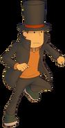 Layton2 EXHD Character Art