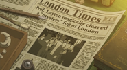 Layton in den London Times