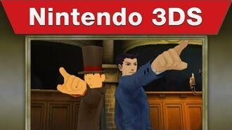 Nintendo 3DS - Professor Layton vs. Phoenix Wright Ace Attorney E3 2014 Trailer-1