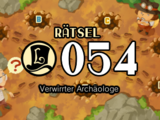 Verwirrter Archäologe