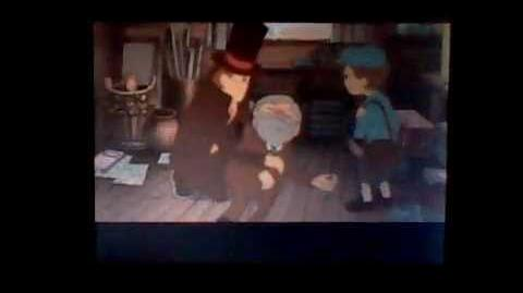 Professor Layton and Pandora's Box the Diabolical Box - Cutscene 3 (UK Version)