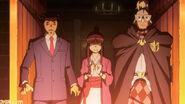 Anwalt, Assistentin und Ritter