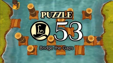 Puzzle Solution Puzzle 53 - Bridge the Gaps (Professor Layton vs Phoenix Wright Ace Attorney)