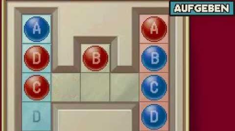 "Professor Layton - Rätsel 126 ""Rot und Blau 2"""